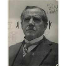 1924 Press Photo US Weather Bureau Chief Prof Charles F Marvin