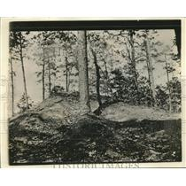 1918 Press Photo camouflaged YMCA hut at Camp Wadsworth in Spartanburg, SC