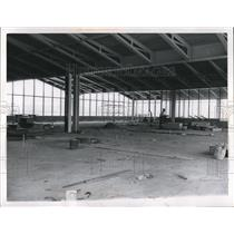 1960 Press Photo Lakefront Air Terminal 2nd Floor