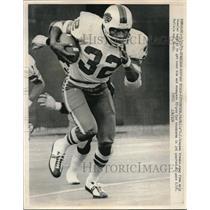 1975 Press Photo O.J. Simpson, Buffalo Bills Vs. PIttsburgh Steelers - nes06721