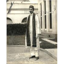 1924 Press Photo Herwan AJ Noble of Bombay India