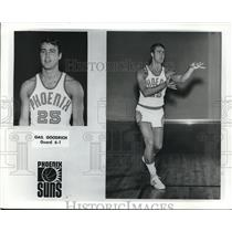 Press Photo Gail Goodrich, Phoenix Suns Basketball Guard - nes06335