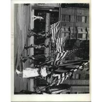 1938 Press Photo Spanish war veterans parade - neb75119