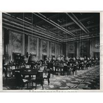 1933 Press Photo Largest Baccarat Room Frank J. Gould Gambling Palace At Nice