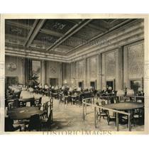 1930 Press Photo Frank J. Gould Palais De La Mediterranee Baccarat Room