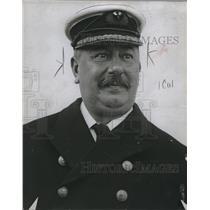 1914 Press Photo Captain H Stanley Smith