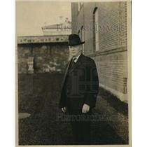 1921 Press Photo Henry Drum Ex Warden Washington Pen