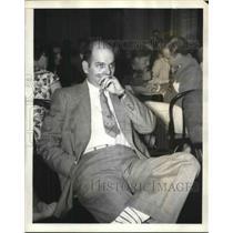 1938 Press Photo CIO organizer Howard Porter testifies he was being followed