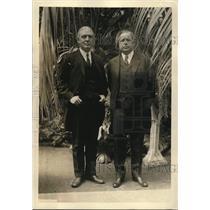 1923 Press Photo John Barton Payne Chairman Red Cross & Charles Warren Amb Japan