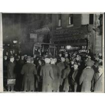 "1924 Press Photo ""Connie's"" establishment after being raided twice before"