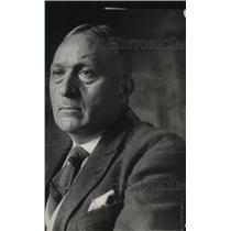 1921 Press Photo Mr Rene Viviani, Deputy at Conference of Arms Limitations