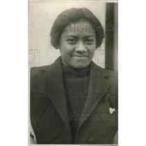 1923 Press Photo Molicia, South Sea Islander - nec08398