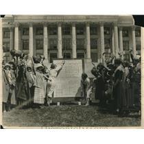 1924 Press Photo Margaret Earl, Grace Winkelman & Lucile MacLean