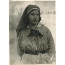 1920 Press Photo Lillian martin deloro Angel Chiacourt
