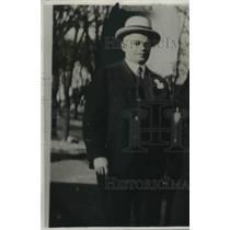 1931 Press Photo W R Bellamy Businessman Great Depression Era - nec06317