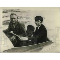 1926 Press Photo W.J. Connors in Potomac Motorboat Race