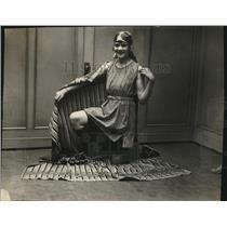 1923 Press Photo Lyla M Sheffield Swimmer