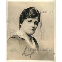 1918 Press Photo Elizabeth Christman Woman's Trade Union League of Chicago Exec