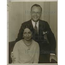 1929 Press Photo Mr. And Mrs. R.G. Guthrie