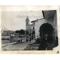 1927 Press Photo View of The Town of Cosautlan in The State of Vera Cruz
