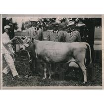 1921 Press Photo Gamboga Oxford Gem Sold to Mr SA Guy of Louisiana
