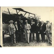 1930 Press Photo Plane