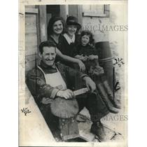 1923 Press Photo Love Nest Triangle of Roy Cummings, Helen Gladyngs & Irene Shaw