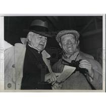 1938 Press Photo Jesse Jones and Stewart McDonald
