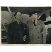 1939 Press Photo Chet Warrington and John D. Burnham Leaders of Sprotsman Pilots