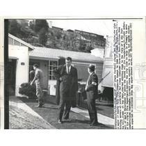 1962 Press Photo Bob St. Clair football great is a concerned mayor of Culma, CA