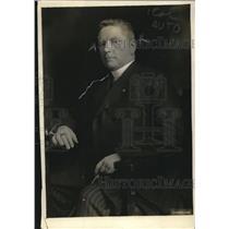 1919 Press Photo Bishop W. H. Nolens of Belgium