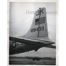 1961 Press Photo Andrews Air Force base, MD U.S. Navy Transport Squadron