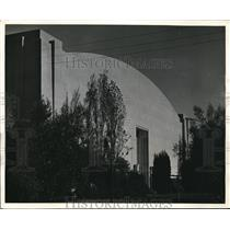 1939 Press Photo Hangar For Air Travelers To Golden Gate Exposition