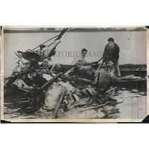 1931 Press Photo 4 die in plane crash into San Francisco bay - nec34481