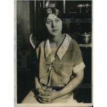 1925 Press Photo Miss Agnes Simuick of Riverdale - nec38111