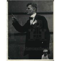 1924 Press Photo Jimmie Murphy of Chicago in a Suit - nec36126