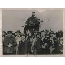 1922 Press Photo F.G Smith, champion rifle shot of Australia.