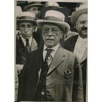 1919 Press Photo Samuel Gompers, Fed. of Labor president on George Washington