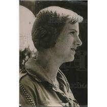 1920 Press Photo Estrid Ott, Danish Girl Scouts traveling around the world.