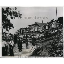 1938 Press Photo Four Miners Die When Mine Collapses