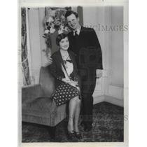 1925 Press Photo Mr and Mrs John Hunter