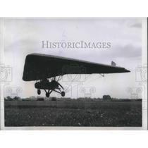 1957 Press Photo M L Light Aircraft Mark I leaves ground of White Waltham Englan