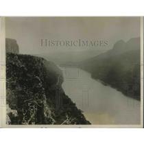 1926 Press Photo Umzimyuba River leading into part of St Johns shipping center