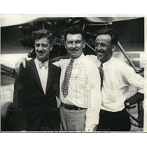 1929 Press Photo Chicago, Ill. Wilson herren, Earle Steele, Russell Mossman