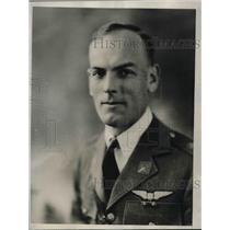1927 Press Photo Major Hubert R. Harmon, asst military attache at US Embassy