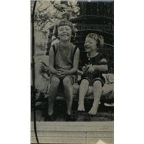 1918 Press Photo Ruth Streeter and sister, Dorothy of Chicago, I.L.