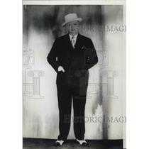 1937 Press Photo Rebel Oakes, Cincinnati Reds and Federal League Baseball Player