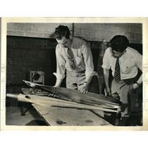1941 Press Photo Charles MacNeil, Chief Engineer of General Motors Aeroproducts