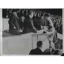 1934 Press Photo Prince of Wales, rugby match