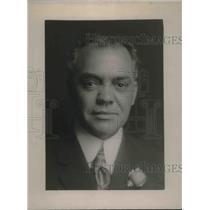 1924 Press Photo John J, Silva from Hawaii